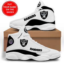 Las Vegas Raiders Customizable Sneakers