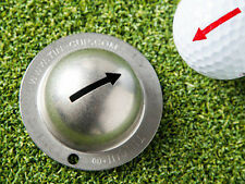 New Tin Cup One Way Arrow Alignment aid Golf Ball Design Marker