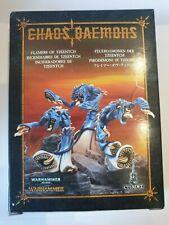Warhammer Fantasy Age of Sigmar Chaos Feuerdämonen des Tzeentch Zinn