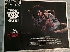 The Amityville Horror 1979 Original Lobby Card HTF James Brolin Color 11 X 14