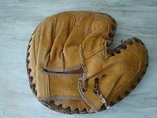 Vintage JC Higgins Leather 1625 Baseball Glove Catchers Mitt Bob Scheffing  GC