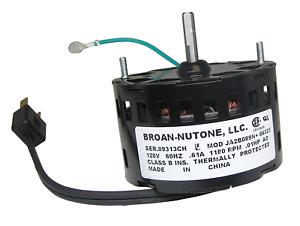 86323000 Broan Nutone Bathroom Exhaust Vent Fan Motor JA2B089N 86323 GENUINE