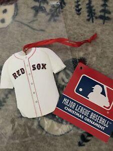 New Kurt Adler  Boston Red Sox Jersey Christmas  Ornament  MLB shirt also listed