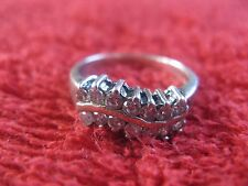 Woman's beautiful silver 925 ring with a stone, Ussr (Ukraine)
