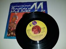 """BONEY M Dancing In The Streets / Never Change SIRE 1038 SOUL 45 VINYL RECORD 7"""""""