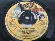 """New listing Rod Stewart - You're In My Heart 7"""" Vinyl Single Record"""