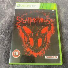 Splatterhouse Xbox 360 PAL Spiel komplett Selten Namco Brutale Gory Aktion