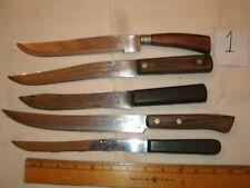 VINTAGE CARVING BUTCHER SLICING KNIFE