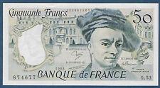 FRANCE-50 FRANCS QUENTIN DE LA TOUR Fayette n° 67.14 de 1988 en NEUF G.53 874677