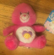 """CARE BEARS """"SHINE BRIGHT BEAR"""" COLLECTIBLE PLUSH NEW WITH TAGS 7 INCHES"""