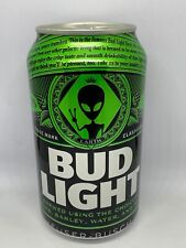 One Empty Bud Light Earth Can Alien Storm Area 51 Emptied From Bottom Alienstock