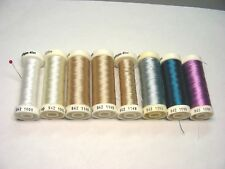 SULKY Thread Lot - Lot of 8 Spools - Sulky Solid Rayon Threads