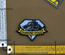 "Ricamata / Embroidered Patch Metal Gear ""Diamond Dogs"" with VELCRO® brand hook"