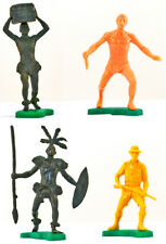 Dulcop Tarzan Character Set - 60mm unpainted plastic toy soldiers