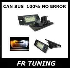 PORSCHE CAYENNE TOUAREG KIT LUCI TARGA A LED CAN BUS 100% NO ERROR BIANCO 6000K