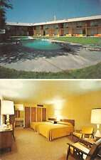 Oakley Kansas Golden Plains Motel Multiview Vintage Postcard K56951