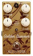 Alexander Pedals Golden Summer - Authorised Dealer! Brand New!