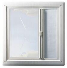 HARTAL Dachhaube 480x480 weiß Dachluke Dachfenster Wohnwagen Wohnmobil mit Rollo