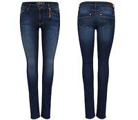 ONLY Damen Denim Jeans Hose ULTIMATE REG SK RIM 6243 NOOS regular skinny W25-32