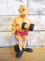 Bodybuilder Bodybuilding Funny Beruf Figur Profession 15,5 cm Neu