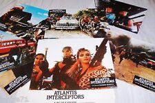 ATLANTIS INTERCEPTOR ! Ruggero Deodato jeu photos cinema lobby cards fantastique