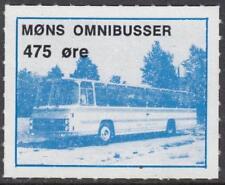 Denmark Mons Omnibusser unused 475o Local Bus Parcel stamp