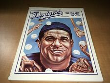 1988 Los Angeles Dodgers Baseball Blue Book by Tot Holmes