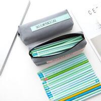 Sac Trousse Stylo Crayon Stockage Poche Scolaires Papeterie Ecole Cadeau