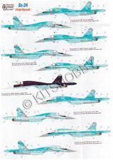 "Authentic Decals 1/72 Sukhoi Su-34 Fullback ""Final Result"""