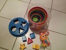Becherturm Kinder Babyspielzeug Rassel Kinderwagen Spielzeug