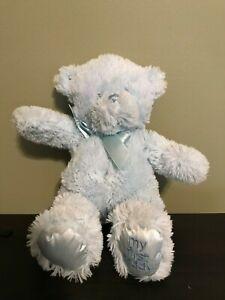 """Baby Gund 10"""" Blue My First Teddy Bear Super Soft Plush"""