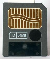 Unbranded 64MB smart media memory card, 3.3 volt. Made in Japan.