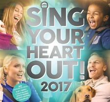 SING YOUR HEART OUT 2017 2CD - VARIOUS ARTISTS Shawn Mendes, James Arthur,