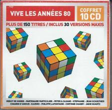 Vive les années 80 Coffret de 10 CD Neuf sous cellophane