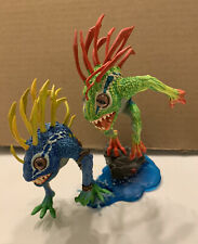Dc Direct World of Warcraft Murloc Fish-Eye & Gibbergil Action Figure 2009 Loose
