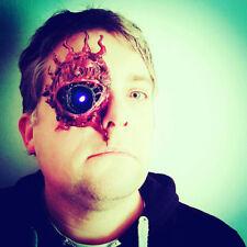 DEL Eye Cyberpunk Zombie Démon le mal avec Borg Style Masque. (sans bretelles)