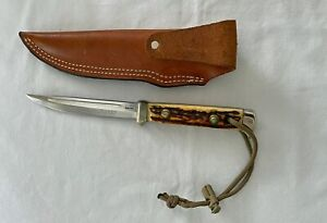 VINTAGE PUMA BUDDY KNIFE WITH SHEATH 1967