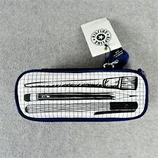 Kipling Live Light 30 Pencil Case Fabric Multi Use Pouch Zip Closure