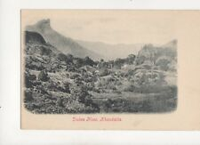 Dukes Nose Khandalla India Vintage U/B Postcard 063b