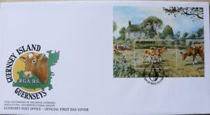 Guernsey Stamps: 'R.G.A.H.S. 150th Anniversary' - First Day Cover 1992
