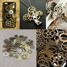 50g Mixed Jewelry Findings Watch Parts DIY Cogs Punk Gears Steampunk