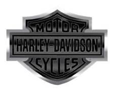 Harley-Davidson Bar & Shield Logo Bendable Aluminum Decal, Black/Silver CG41713