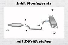 VW Golf V  Plus 1.4 55/59KW Auspuffanlage Auspuff Endtopf Mitteltopf Montagesatz