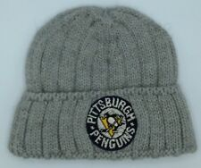 new style f8ead dbfe5 NHL Pittsburgh Penguins CCM Youth Cuffed Winter Knit Hat Cap Beanie NEW!