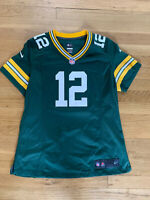 Nike Women's Aaron Rodgers Green Bay Packers On Field Game Jersey Large