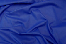 Blue Royal Canvas Fabric Medium Weight 100%Cotton 150cm Wide Sold Per M FREE P+P