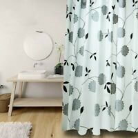3D Bathroom Shower Curtain Thicken Waterproof Washable Curtain Extra Long Modern