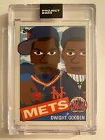 Topps Project 2020 Dwight Gooden Artist Keith Shore #203 PR 3652 Strawberry Mets