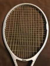Wilson Reflex Os Oversize 110 Vintage Tennis Racket Original Leather Grip 4 1/2