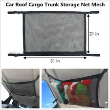1PC Universal Car Roof Cargo Trunk Storage Net Mesh SUV Organizer Pocket Luggage